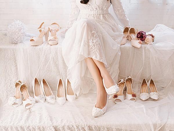 Giày cưới Nghé Art Handmade