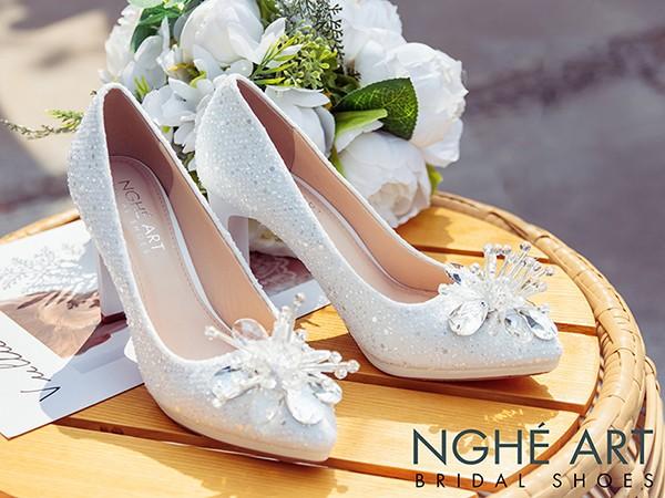 Địa chỉ mua giày cưới đẹp cho cô dâu ở TPHCM