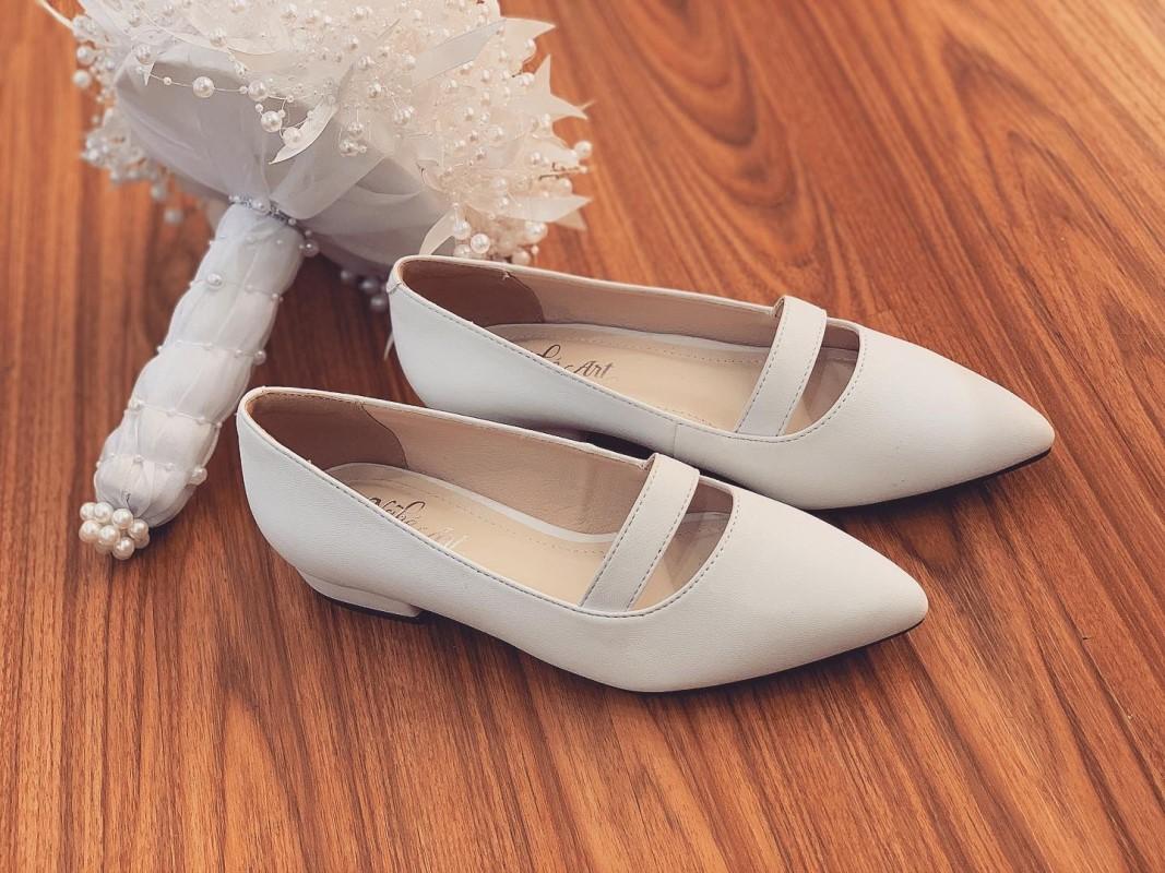 Giày cưới trơn bệt 164 - Ảnh 9 -  Nghé Art Bridal Shoes – 0908590288