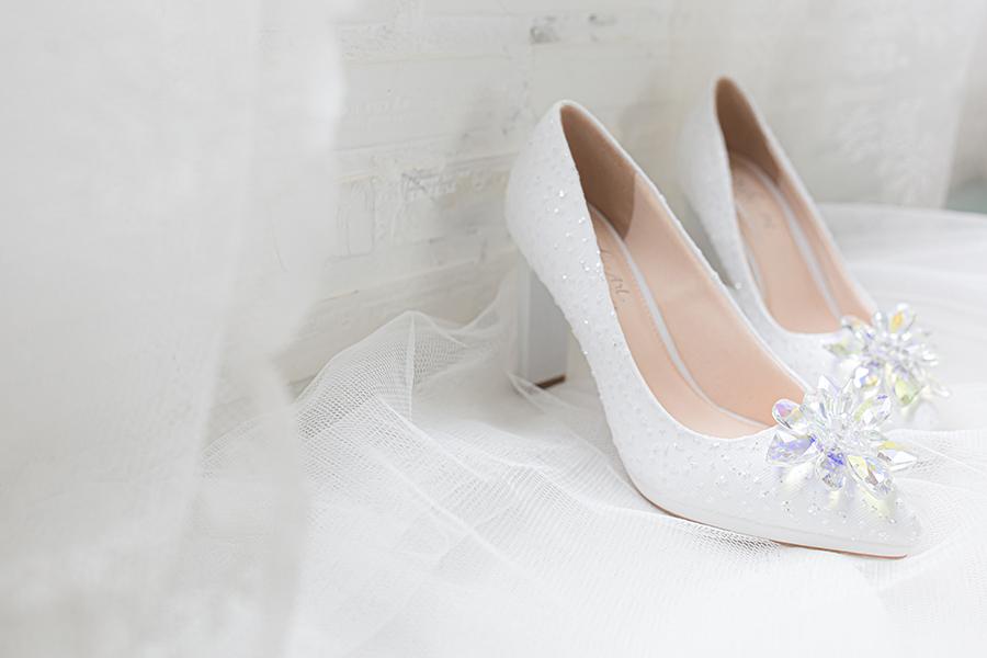 Giày cưới Nghé Art ren kim hoa đá 287 - Ảnh 4 -  Nghé Art Bridal Shoes – 0908590288