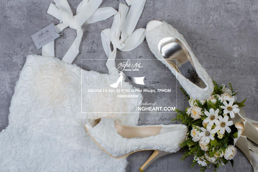 Nghé Art Bridal Shoes - 0908590288 - 5 Tips chọn giày cưới - Ảnh 2