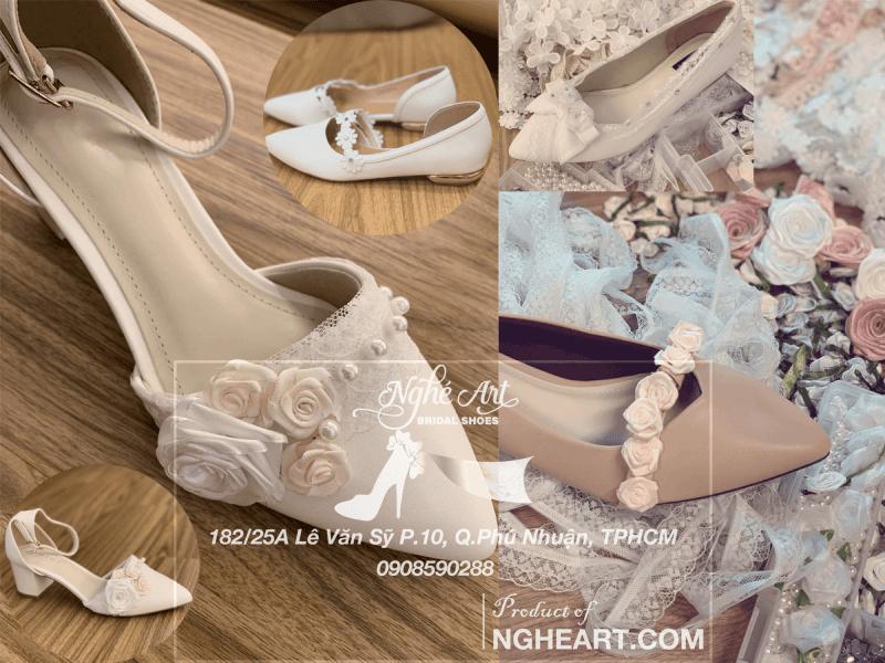 Nghé Art Bridal Shoes - 0908590288 - 5 Tips chọn giày cưới - Ảnh 5