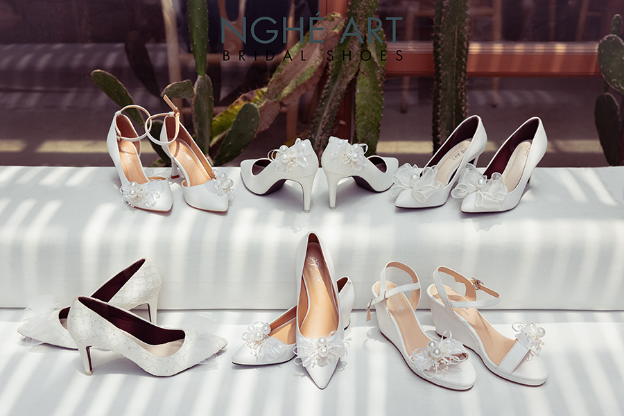 Bộ sưu tập giày nơ 2021 - Ảnh 1 -  Nghé Art Bridal Shoes – 0908590288