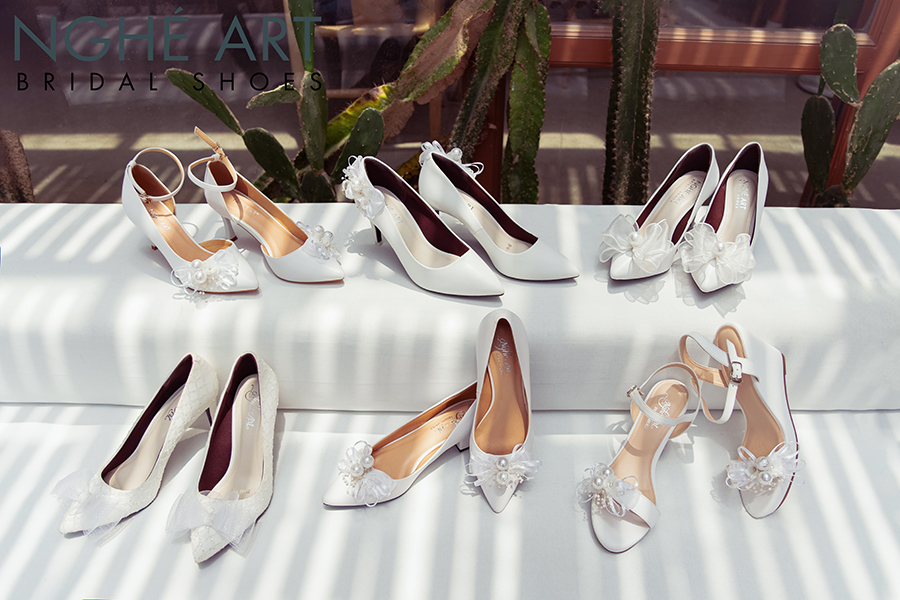 Bộ sưu tập giày nơ 2021 - Ảnh 2 -  Nghé Art Bridal Shoes – 0908590288