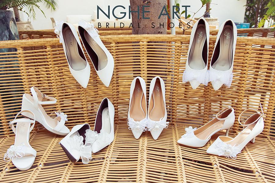 Bộ sưu tập giày nơ 2021 - Ảnh 4 -  Nghé Art Bridal Shoes – 0908590288