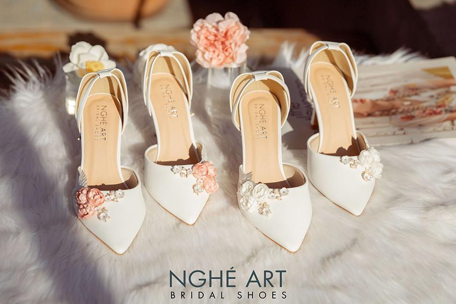Cửa hàng giày cưới đẹp chất lượng tốt tại TPHCM - Ảnh 1 -  Nghé Art Bridal Shoes – 0908590288