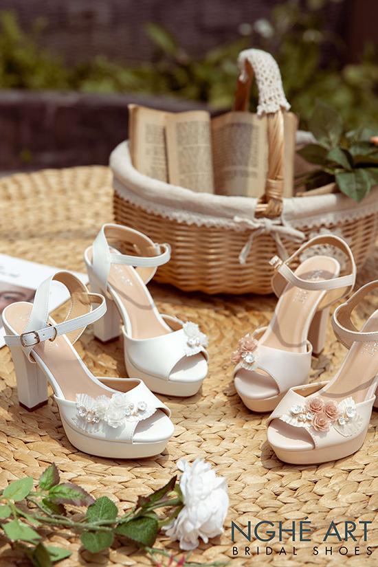 Cửa hàng giày cưới đẹp chất lượng tốt tại TPHCM - Ảnh 2 -  Nghé Art Bridal Shoes – 0908590288