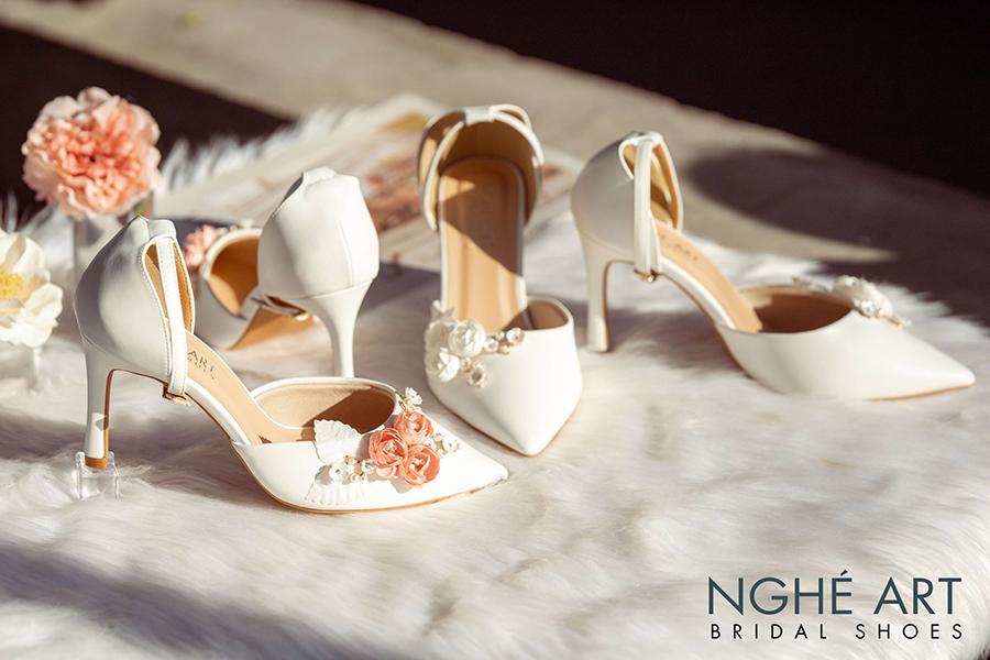 Cửa hàng giày cưới đẹp chất lượng tốt tại TPHCM - Ảnh 4 -  Nghé Art Bridal Shoes – 0908590288