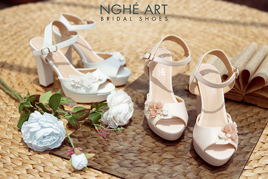 Top 5 nguyên tắc lựa chọn giày cưới các nàng dâu không thể bỏ qua - Ảnh 2 -  Nghé Art Bridal Shoes – 0908590288