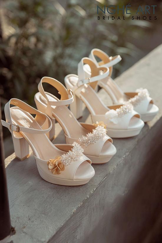 Top 5 nguyên tắc lựa chọn giày cưới các nàng dâu không thể bỏ qua - Ảnh 7 -  Nghé Art Bridal Shoes – 0908590288